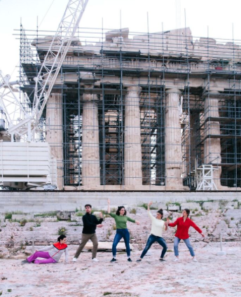 "Fórum do Futuro - © Alexandra Pirici, ""Parthenon Marbles"""